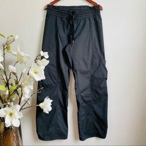 Lululemon dark gray ruched back track pants